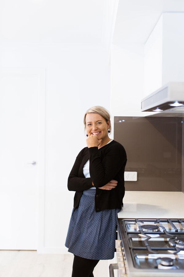 Natalie Stevens at home in Warrnambool